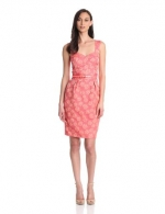 Pink floral dress by French Connection at Amazon