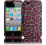 Pink jewelled iphone cover at Amazon