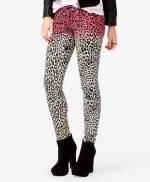 Pink leopard ombre jeans from Forever 21 at Forever 21