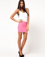 Pink mini skirt from ASOS at Asos