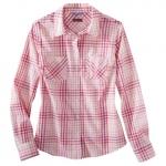 Pink plaid shirt at Target at Target