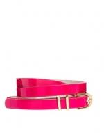 Pink skinny belt at ASOS at Asos