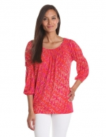 Pink top by Anne Klein at Amazon
