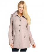 Pink tweed coat like Carries at 6pm
