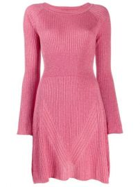Pinko Ribbed Knit Dress - Farfetch at Farfetch