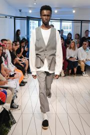 Pinstripe Pants by Chalayan at Farfetch