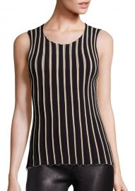 Pinstripe Tank by Helmut Lang at Saks Fifth Avenue