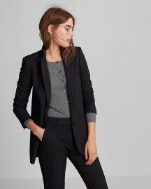 Pinstripe jacket at Express