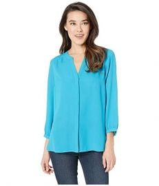 Pintuck-Back Blouse by NYDJ at Zappos