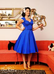 Pinup Couture Heidi Dress at Pinup Girl Clothing