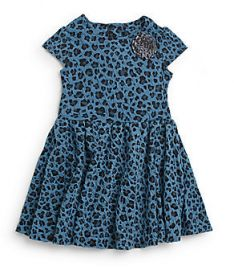 Pippa and Julie Leopard Print Dress at Saks Off 5th