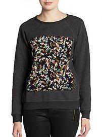Piscies Floral Sweatshirt at Saks Off 5th