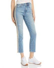 Pistola Monroe Side-Stripe Cropped Cigarette Jeans in Light Wash  Women - Bloomingdale s at Bloomingdales