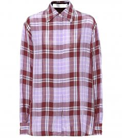 Plaid shirt at Mytheresa