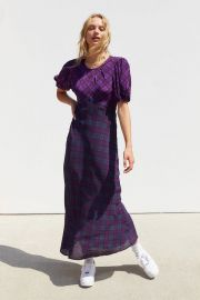 Plaid Cher Dress by Rahi at Urban Outfitters