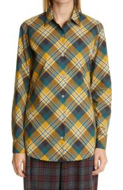 Plaid Cotton Shirt at Nordstrom