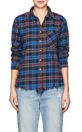 Plaid Cotton Shirt by NSF at Barneys