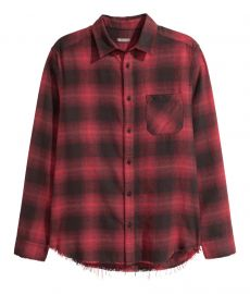 Plaid Flannel Shirt at H&M