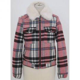 Plaid Jacket at Topshop