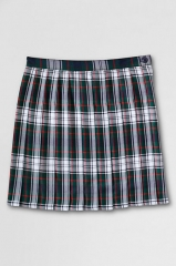 Plaid Pleated Skirt at Lands End