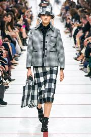 Plaid Skirt Fall 2020 Collection by Dior at Dior