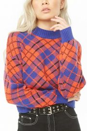 Plaid Sweater at Forever 21