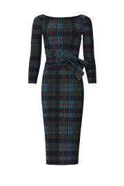 Plaid Thayna Sheath Dress by La Petite Robe di Chiara Boni at Rent The Runway
