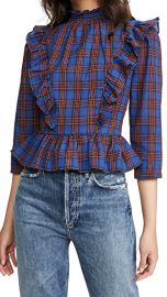 Plaid Top by English Factory at Shopbop