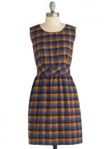 Plaid dress at Modcloth at Modcloth