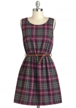 Plaid dress from Modcloth at Modcloth