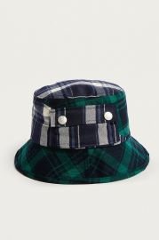 Plaid on Plaid Bucket Hat by Kangol at Urban Outfitters