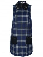 Plaid shift dress by Juicy Couture at Farfetch