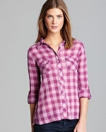 Plaid shirt by CC California at Bloomingdales