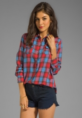 Plaid shirt by Joes Jeans at Revolve