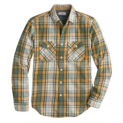 Plaid shirt by Wallace and Barnes at J. Crew
