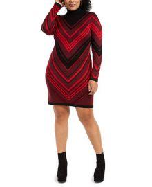 Planet Gold Trendy Plus Size Turtleneck Bodycon Dress   Reviews - Trendy Plus Sizes - Plus Sizes - Macy s at Macys