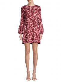 Pleated Bodice Mini Dress by Maje at Saks Fifth Avenue