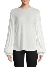 Pleated Blouse at Gilt