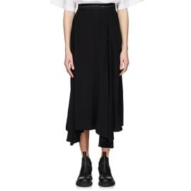 Pleated Godet Skirt by Prada at Barneys