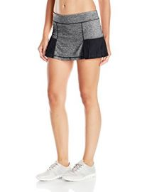 Pleated Marled Skirt by Head at Amazon