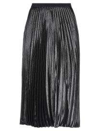 Pleated Metallic Skirt by Diane von Furstenberg at Yoox
