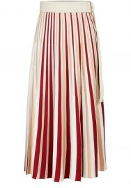 Pleated Midi Skirt by Moncler at 24S