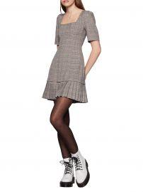 Pleated Plaid Mini Dress at Lord + Taylor