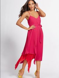 Pleated Shift Dress - Gabrielle Union Collection at NY&C