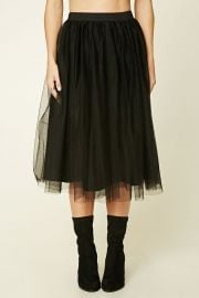 Pleated Tulle Skirt at Forever 21