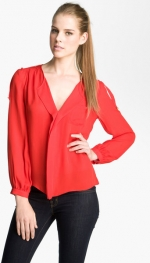 Pleated blouse by Parker at Nordstrom