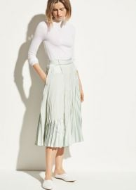 Pleated skirt at Vince