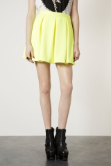 Pleated skirt at Topshop