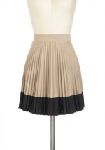Pleated skirt at Modcloth at Modcloth