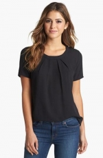 Pleione pleated top at Nordstrom